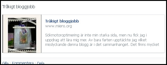 Snyggare på Facebook