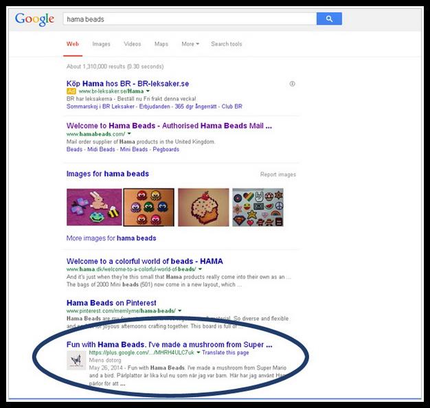 Träffresultat på Google - Hama Beads