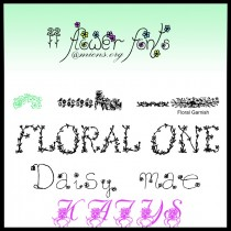 flower-fonts