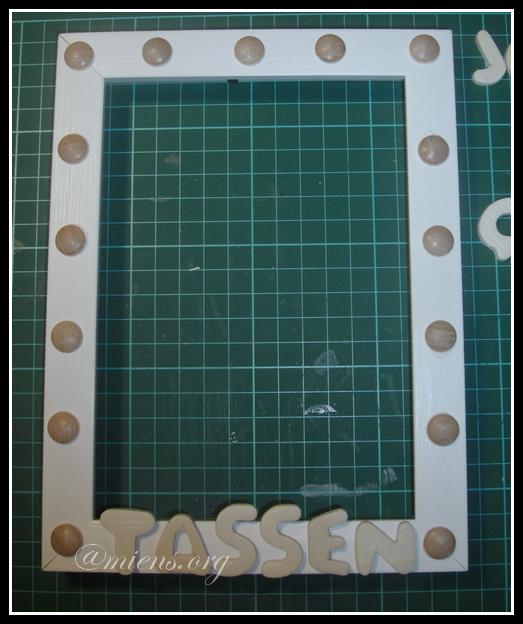 Placera ut bokstäver och knappar