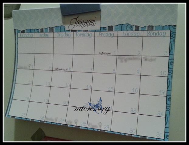 Kalendern på kylen