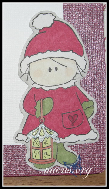 Detail of christmas card 2007