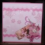 Julkort i rosa (vecka 1)